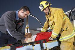 Injured Car Accident Victim
