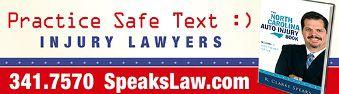 Speaks Law Firm Banner Advertisement